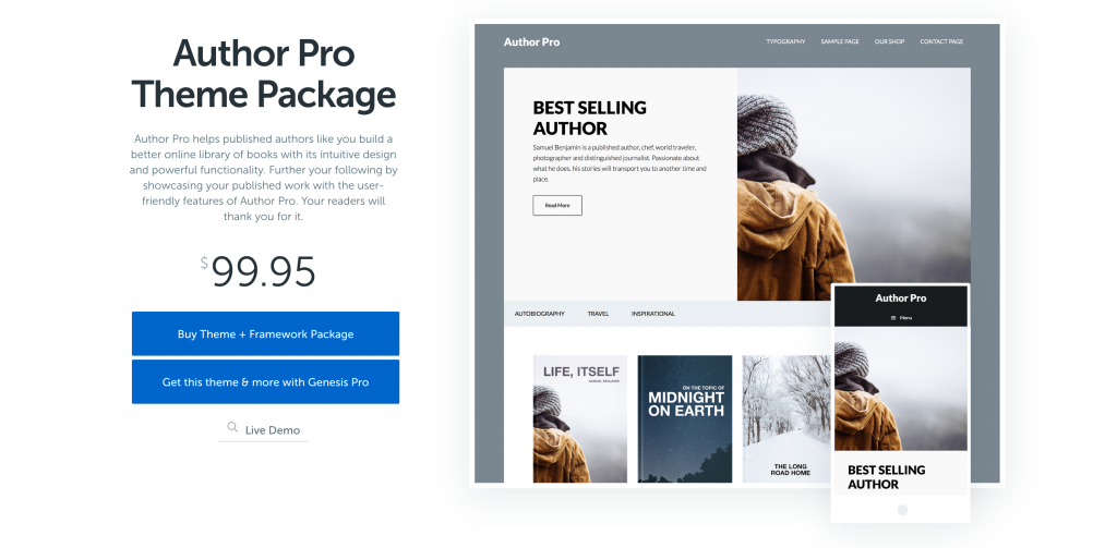 Author Pro Theme by StudioPress