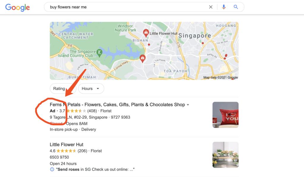 谷歌本地广告